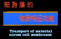 细胞膜物质转运功能 生理学视听教材
